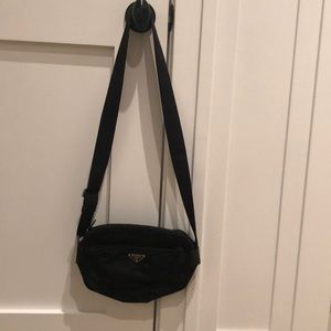 Prada nylon camera bag